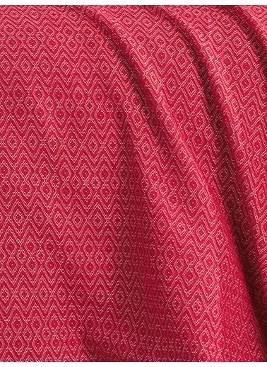 Eponj Home Venüs Pike Yatak Örtüsü Seti Çift Kişilik  Kırmızı